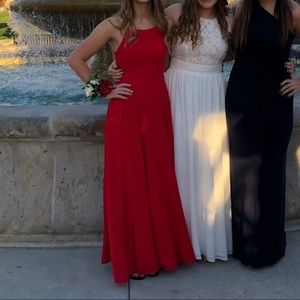 Red lulus dress